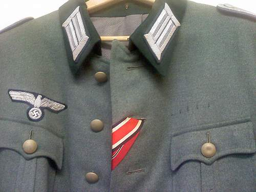 Need some opinions on full Heer Officer Tunic set...