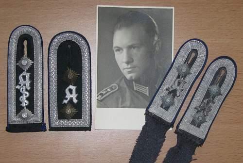 Conversion of Luftwaffe shoulder boards?