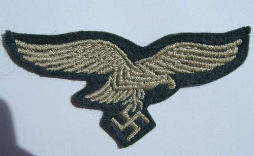 Need help with Luftwaffe breast eagle