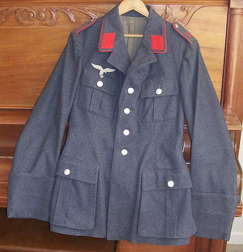 Opinions on this Luftwaffe Flak Tunic please...