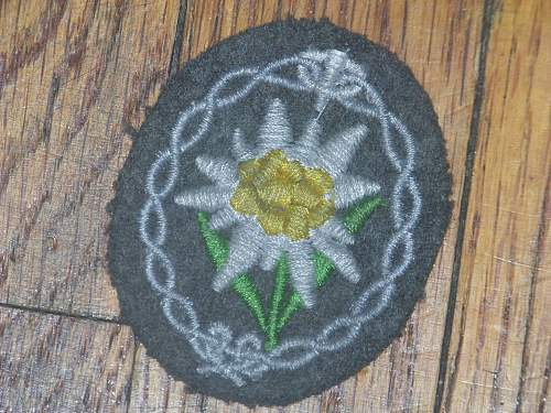 opinion on 3 patches insignias