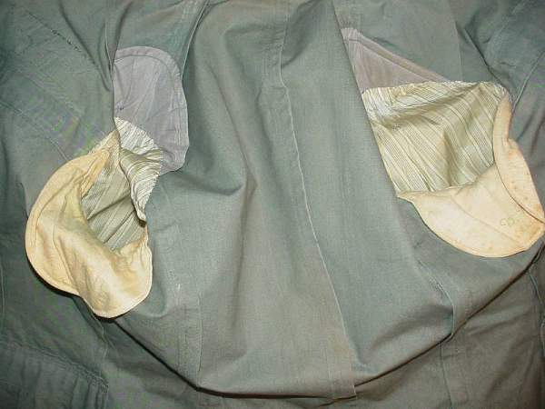 Panzer officers tunic duck material