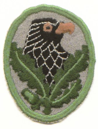 Sniper clothbadge