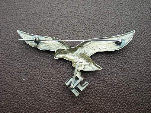 REAL?  eagle with swastica