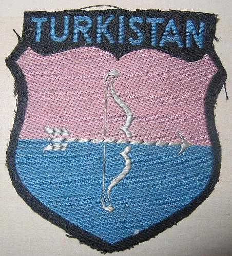 info about Turkistan volunteers sheild wanted