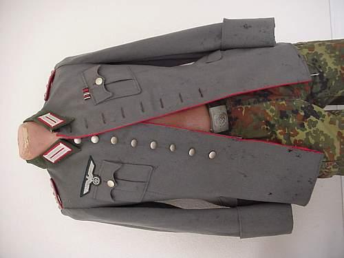 Heer tunic, officer artillery?