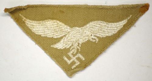Ordensburgen cufftitle and LW Afrika insignia