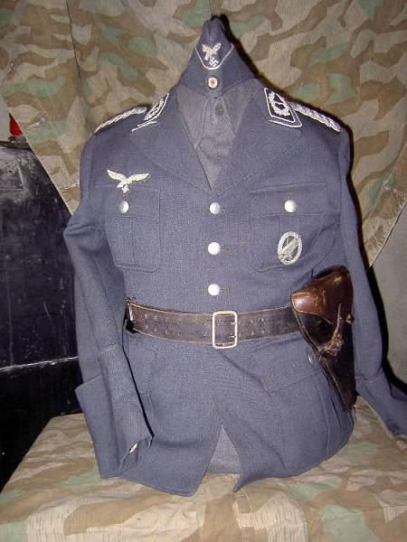 Luftwaffe NCO Pioneer