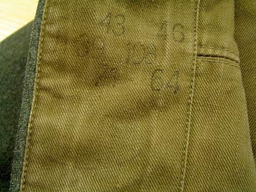 My first M-36 Feldbluse