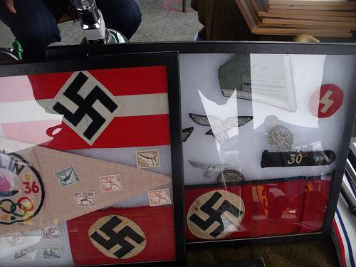 Items at the military show!