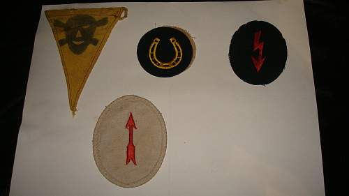 Some Insignia and Warning Marker
