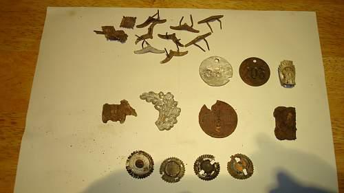 Some Dug Items