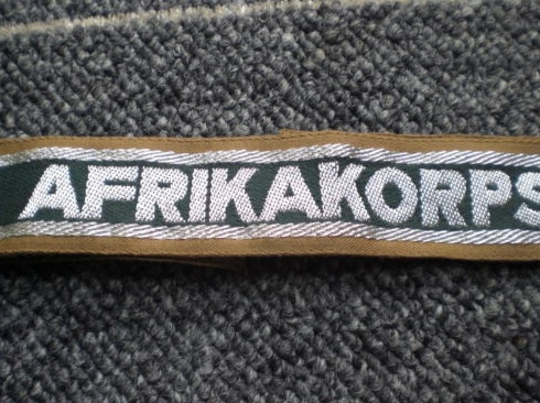 Afrika Corps cuff title, second opinion needed!!!