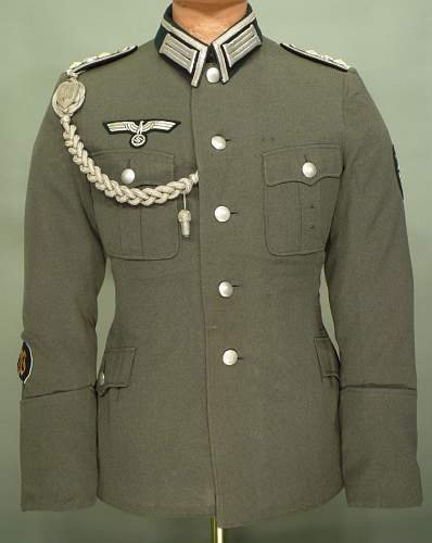 Heer - Festungspioneer Oberfeldwebel Service Tunic