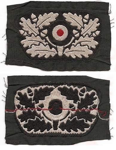 Cloth Wreath & Cockade