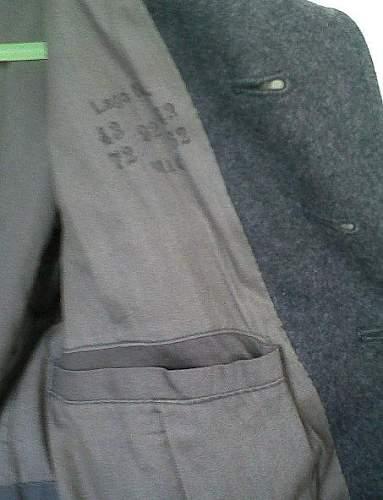 Luftwaffehelferin tunic and trousers.