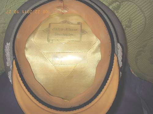 Click image for larger version.  Name:German INF Officers Cap 4.jpg Views:73 Size:252.5 KB ID:262774