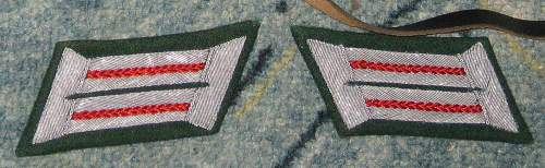 Tabs officers of the Wehrmacht. Face or real?