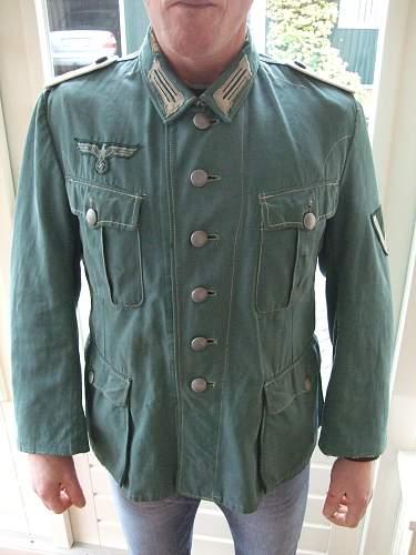 Wehrmacht uniform real?