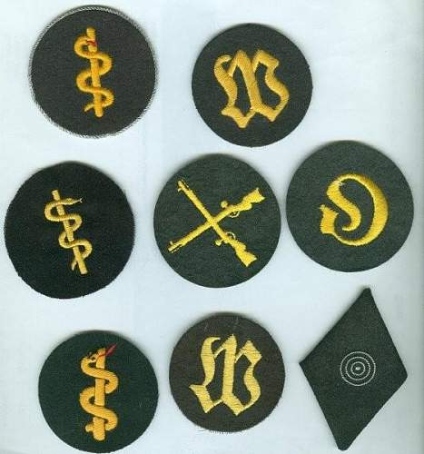 How many of these patches are SS?