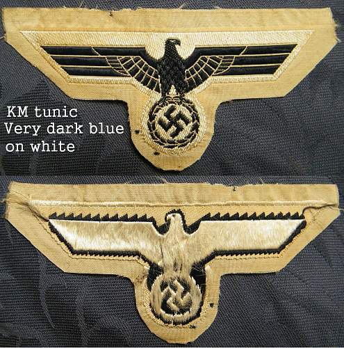 Click image for larger version.  Name:Km tunic eagle, bevo 2 - medium.jpg Views:54 Size:260.9 KB ID:276213
