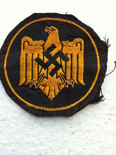 Selection of TR Patches.