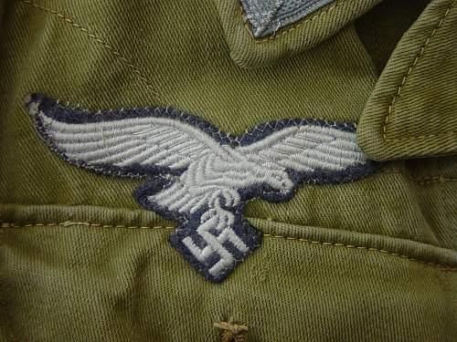 Luftwaffe breast eagle - fake?