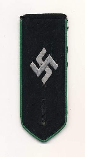 Gestapo Shoulder Board?