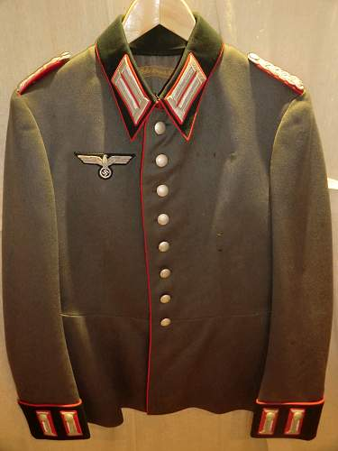 A nice Officer's parade tunic.