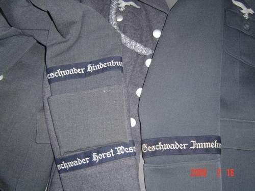 Geschwader Immelmann cuff title