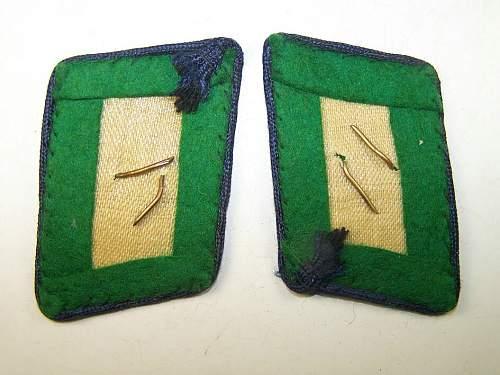 Collar tabs Herman Göring Division: any good?