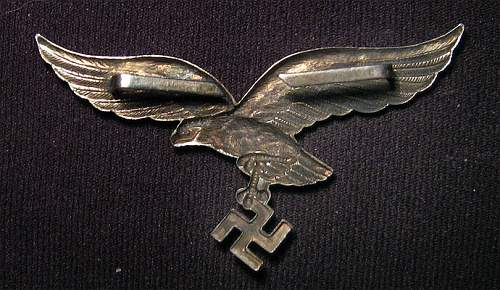 No mark silver lw cap eagle