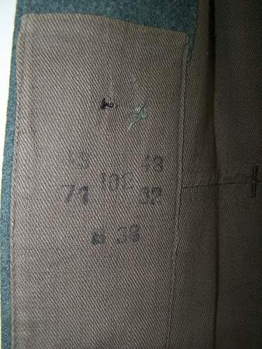 My first tunic, any opinions, please? M36