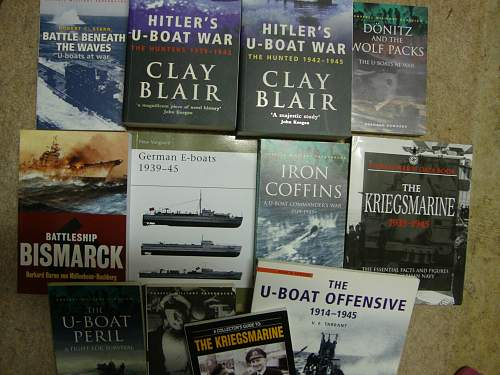 Kriegsmarine Reference Books Question - Opinions?