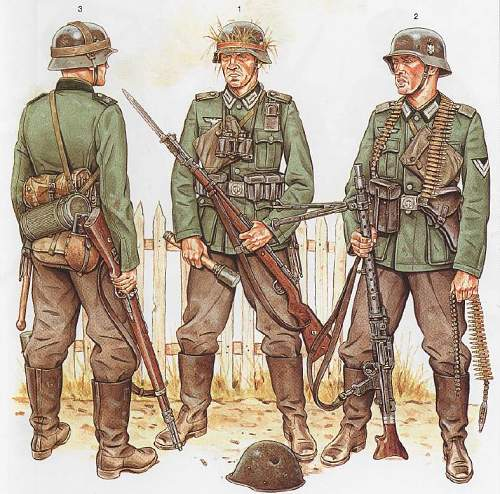 Want to outfit mannequin - starting with a field modified M36 Oberfeldwebel tunic - Help!