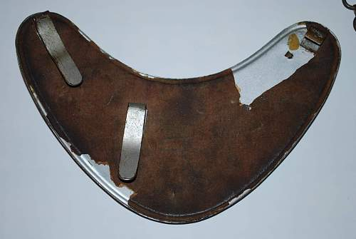Feldgendarmerie Gorget: Latest and most exciting find so far!