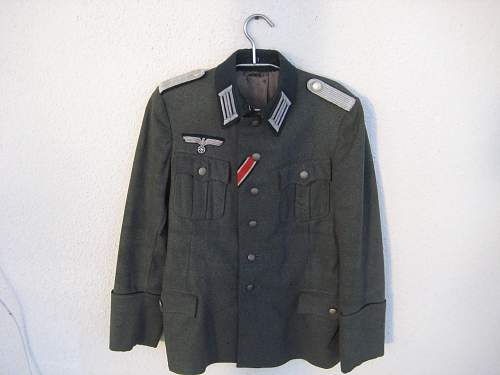German Tunic, fake?
