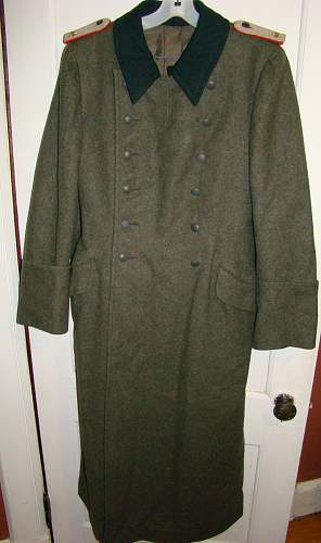 artillary overcoat