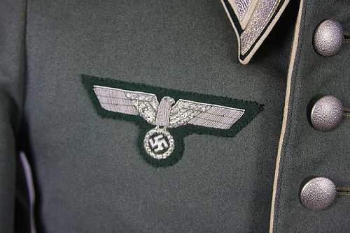 Heer Infanterie NCO's Waffenrock