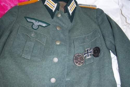 Lt. Cavalry  Tunic