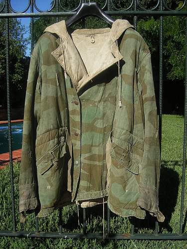 Splittermuster jacket (Reversible to white)