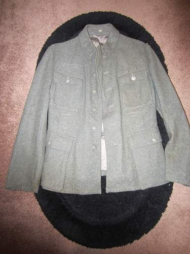 WW2 German jacket, Real or fake?