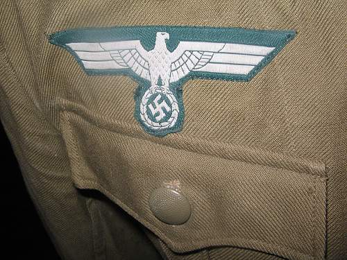 Great find! Tropical Uniform from NCO