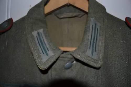 Wehrmacht Artilery uniform?