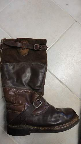 Luft brown flying boots?
