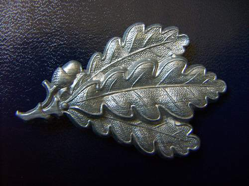 Late war Jager cap badge