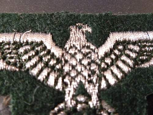 Heer and Luftwaffe eagles