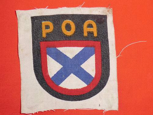POA sleeve patch real or fake?
