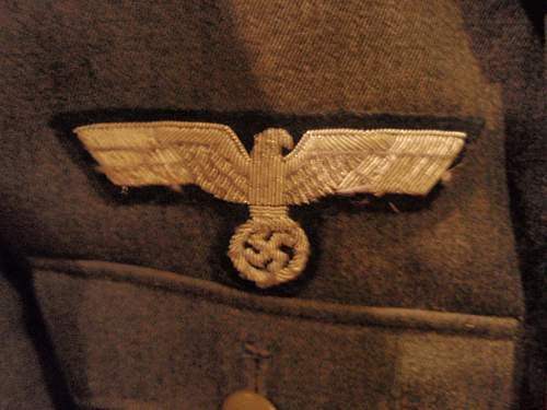 65TH Grenadier Officer Tunic