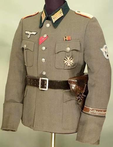 Feldgendarmerie Officer.